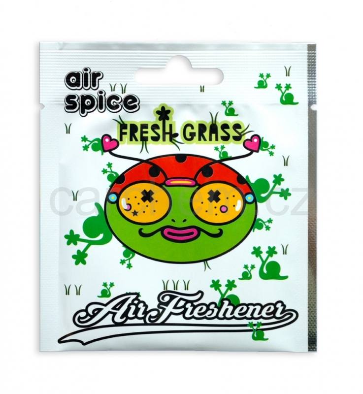 Air Spice Fresh Grass - vonná visačka