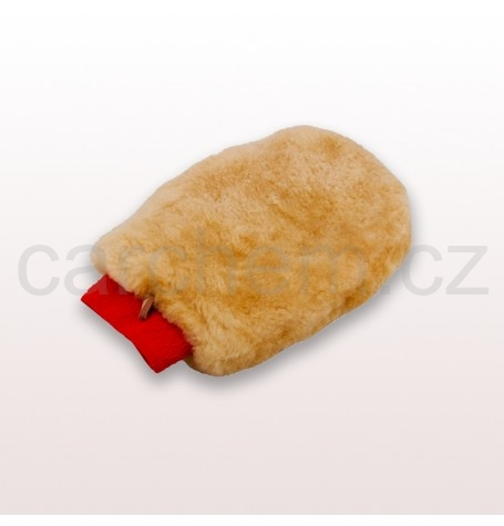 Luxurious Lambs Wool Wash Mitt Deep Pile